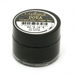 Pasta antică CADENCE DORA 20 ml - NEGRU 6131