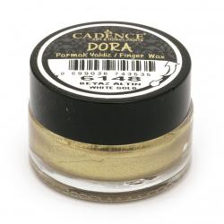 Антична паста CADENCE DORA 20 мл - WHITE GOLD 6148