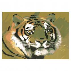 Комплект рисуване по номера 20x30 см -Тигър msa0068