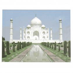Set pictură după cifre 30x40 cm - Taj Mahal Ms9416