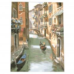 Set pictură după cifre 30x40 cm - Veneția Ms9696