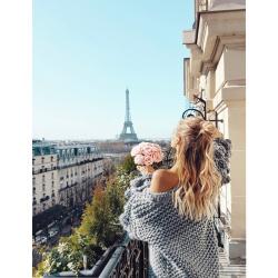 Σετ ζωγραφικής με αριθμούς 30x40 cm - Παρίσι από μακριά Ms7666