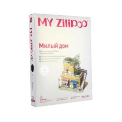 3D пъзел ZILIPOO от пенокартон с жива градина 25x17x20 см -Любим дом -30 части