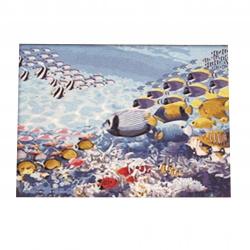 Комплект рисуване по номера 40x50 см -Морско дъно Ms8067