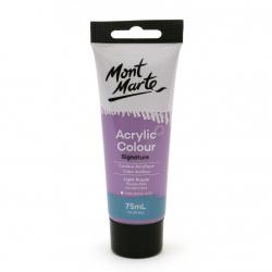 Акрилна боя полумат Mont Marte Studio Acrylic Paint 75мл - Light Purple