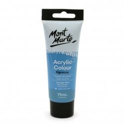 Акрилна боя полумат Mont Marte Studio Acrylic Paint 75мл - Cerulean Blue