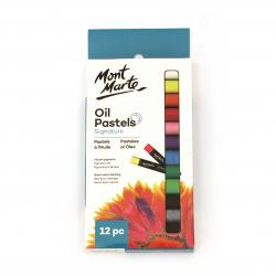 Σετ Mont Marte Oil Pastels -12 τεμάχια