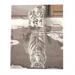 Комплект рисуване по номера 40x50 см -Огледален образ Ms7323