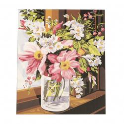 Комплект рисуване по номера 40x50 см -Цветно настроение Ms7372