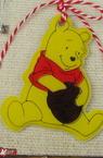 Мартеници мечок брокат гумен 10 броя