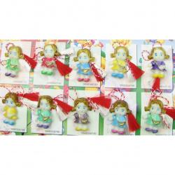 Мартеници кукла-светеща 10 броя