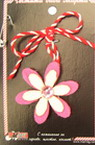 Floare Martisor din vată 10 bucăți