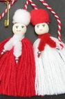 Мартеници Пижо и Пенда с шалче 10 броя