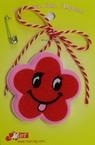 Floare de martisor cu zâmbet 10 bucăți