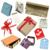 Gift wrapping and cellophane bags