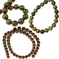 Унакит естествени и полускъпоценни камъни