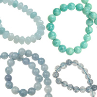 Аквамарин естествени и полускъпоценни камъни