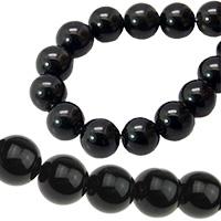 Черен камък естествени и полускъпоценни камъни