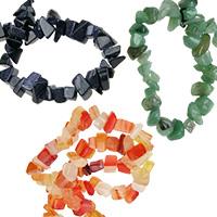 Чипс големи естествени и полускъпоценни камъни