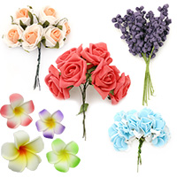 EVA Foam Flowers for Wedding, Home Decoration, Party, DIY Projects