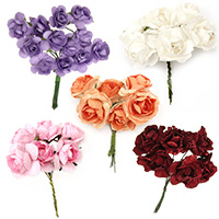 Decorative Paper Flowers, Craft Projects, Home Decor, Wedding, Party, DIY