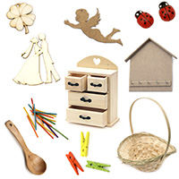 Wooden Crafts, MDF, Chipboard