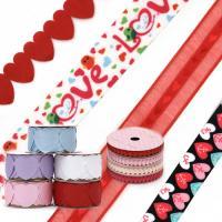 Lente snururi decorative de sfantul valentin