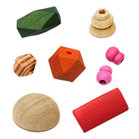 Wooden Beads Figurines