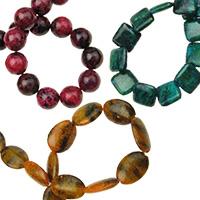 Хризокола естествени и полускъпоценни камъни