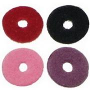 Faux Suede Beads