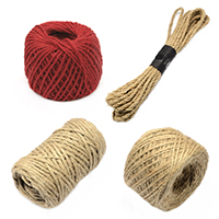 Hemp & Jute Cords and twines for DIY Projects, Decoration Gardening