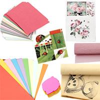 Картон и Хартия с различни дизайни
