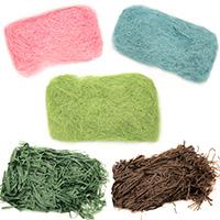 Кокосова и хартиена трева за декорация