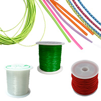 Elastic Wires & Cords for Jewelry Making, DIY projects, Craft and Hobby
