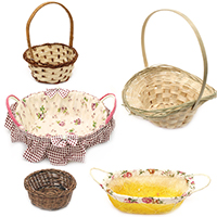 Wooden Baskets for Gifts, Decoupage, Home Decoration, DIY, Handmade