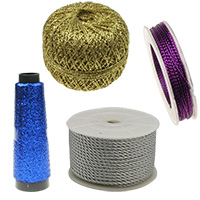 Metallic Cord and Strings for Jewelry Making, ART & Craft Projects, Gift Wrapping