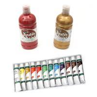 Oil & Tempera Paints for Art & Decoration