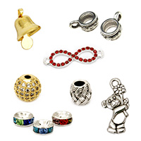 Metal beads Elements Pendants