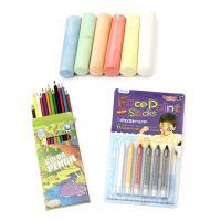 Creioane și pasteluri pentru desen și decorare