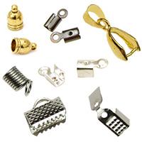 Ακροδέκτες, σφιχτηράκια, καπελάκια για κοσμήματα