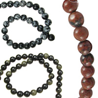 Obsidian Gemstone Bead Strands, Jewellery Making, Necklaces, Bracelets, Craft
