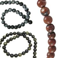 Обсидиан естествени и полускъпоценни камъни