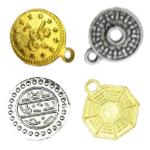 Метални парички за украса