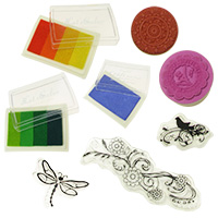 Art Hobby Stamps & Pigment Ink Pads