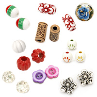 Plastic Acrylic Beads Jewelry Making Necklaces Bracelets Clothes Craft Handmade DIY