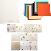 Χειροποίητα χαρτιά χειροτεχνίας, decoupage ριζόχαρτο, χαρτί Ινδίας και Νεπάλ.