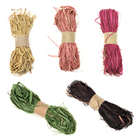 Natural Raffia Bundles for Floral Arrangements, Packing, and Crafts, Decorations, DIY
