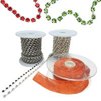 Rhinestone Chains, Trim, Sewing, Beads, DIY, Craft, Jewelry