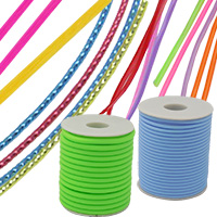 Stretchy Sillicone Rubber Cord for Jewelry Making
