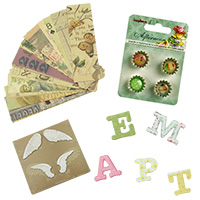 Scrapbooking Decoration Materials Albums Boxes Cards Tags DIY